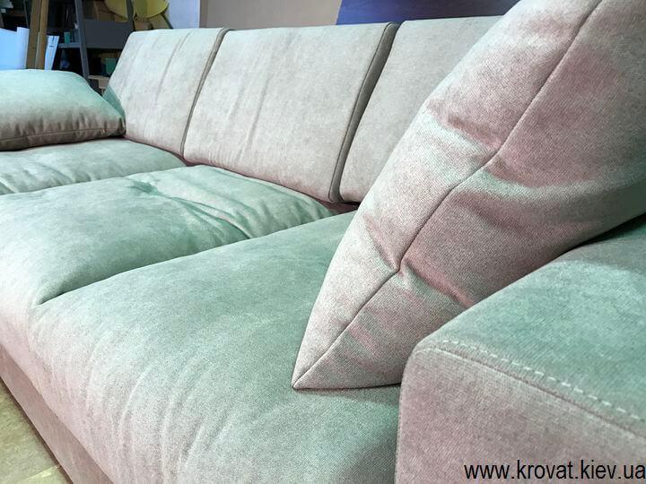 зручний м'який кутовий диван