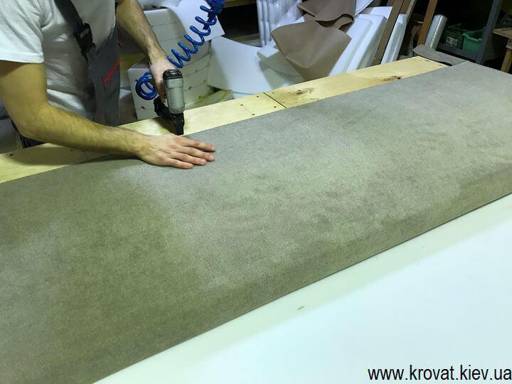 изготовление мягких диванов