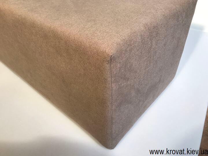 прямоугольный пуф на заказ