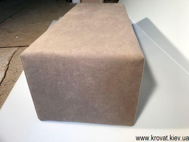 прямоугольный пуфик от производителя