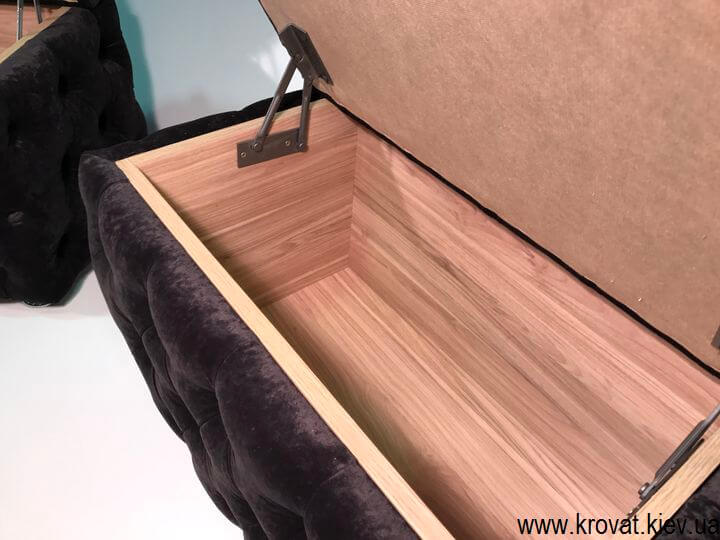 пуфи з ящиком для зберігання на замовлення