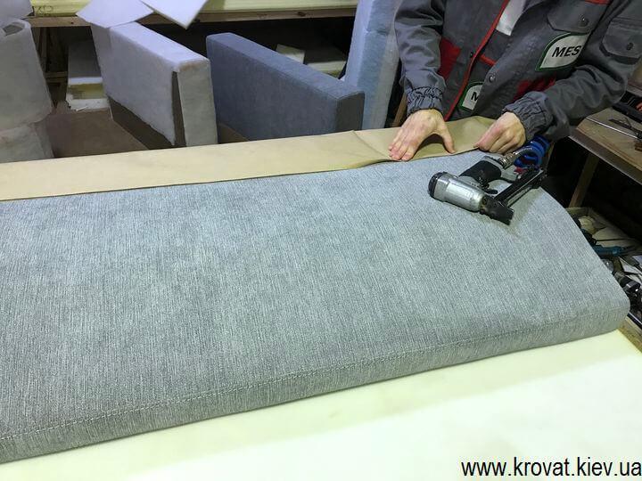 изготовление диванов с ортопедическим матрасом