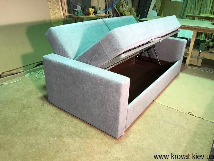 диван з ортопедичним матрацом для підлітків