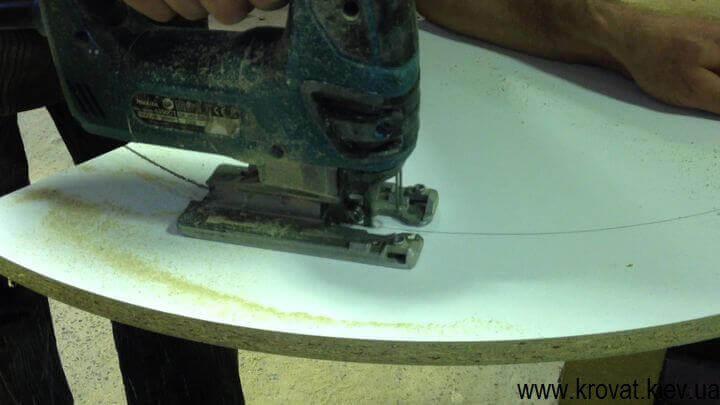как сделать угловой пуфик своими руками