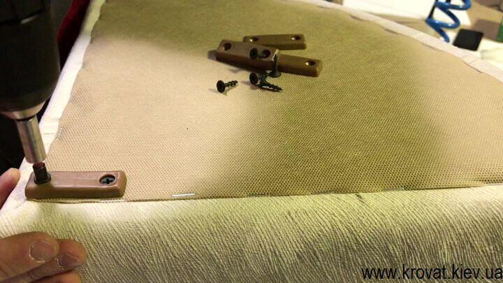 инструкция изготовления углового пуфика
