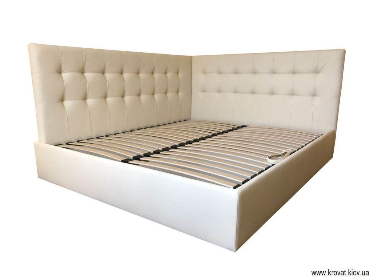 ліжко з бічною спинкою