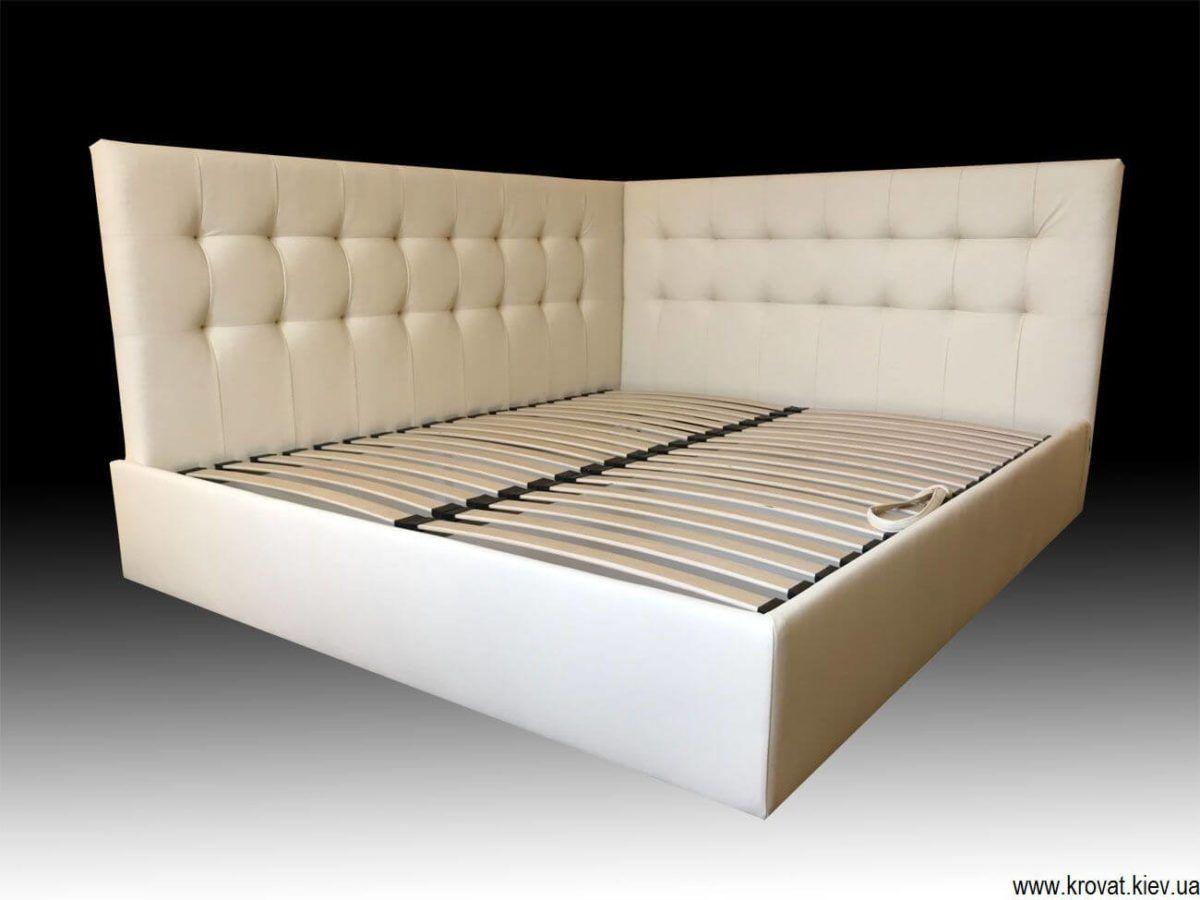 кровать с боковой спинкой на заказ