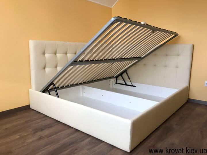 кровать с боковой спинкой с подъемным механизмом