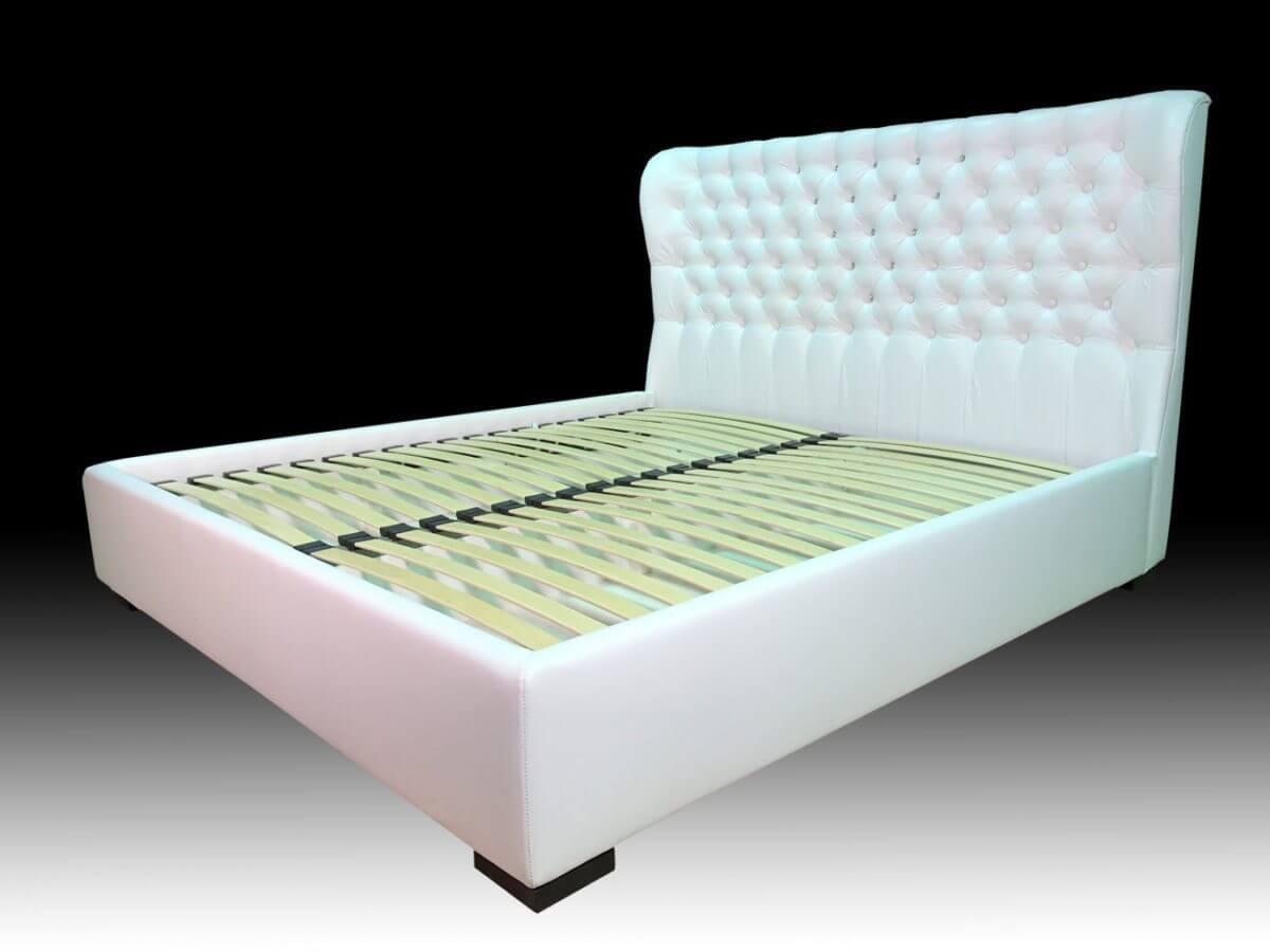 кровать Валенсия в белом цвете на заказ