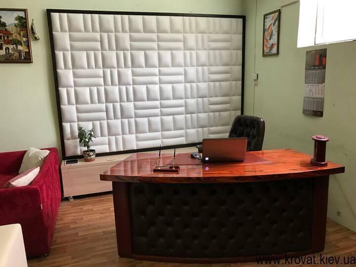 мягкая панель на стену под заказ