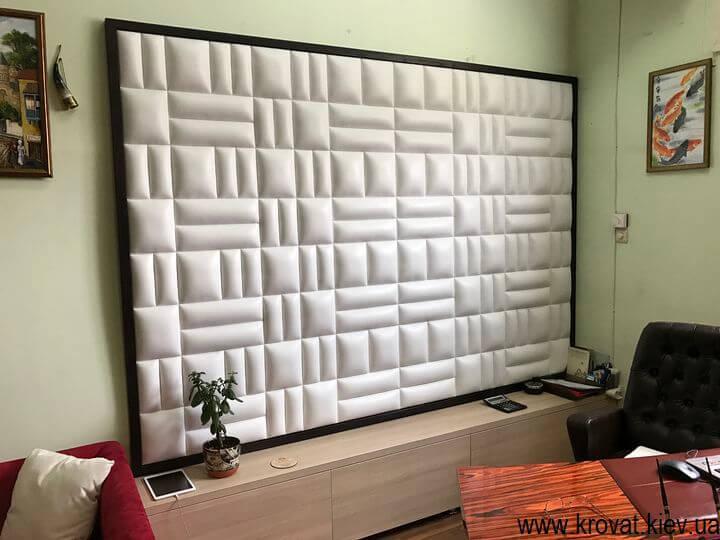 изготовление мягких стеновых панелей на заказ