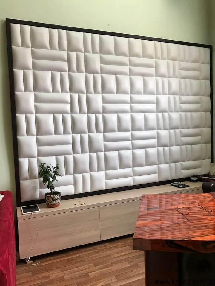 декоративная мягкая стеновая панель на заказ