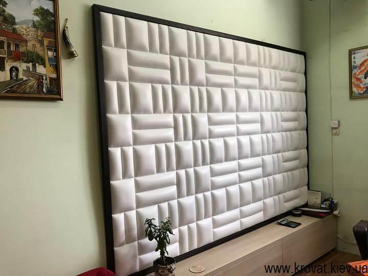 мягкая стеновая панель в офис