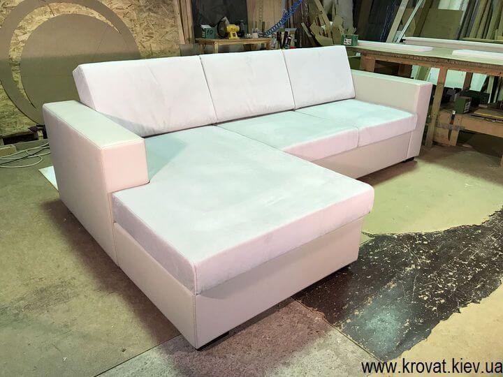 нераскладной угловой диван на заказ