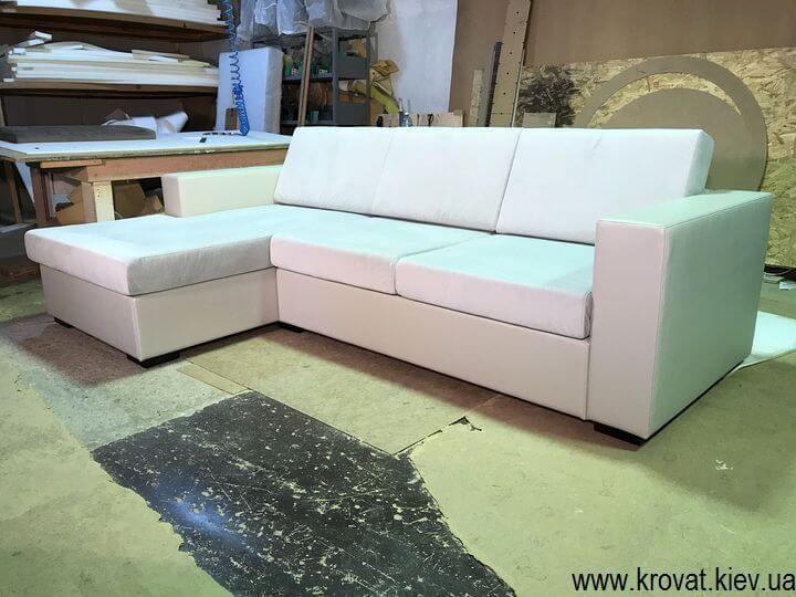 нераскладные угловые диваны в Киеве на заказ