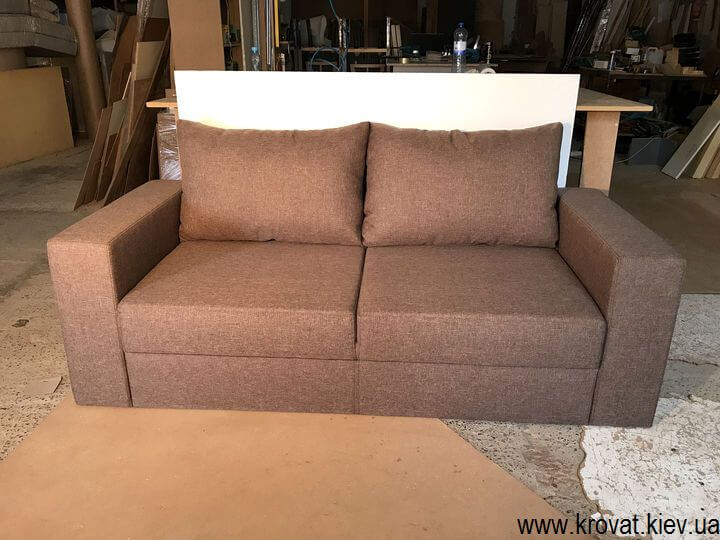 диван без механизма раскладывания на заказ