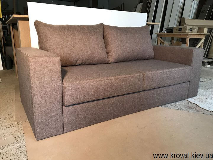 производство диванов без механизма на заказ