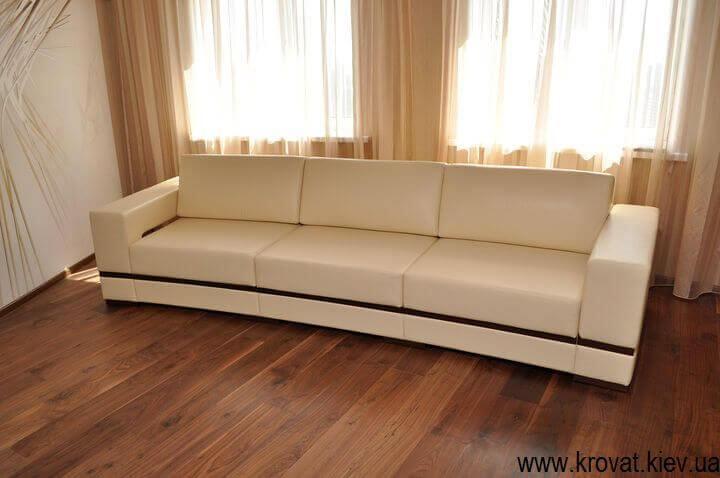 диван с радиусом в интерьере