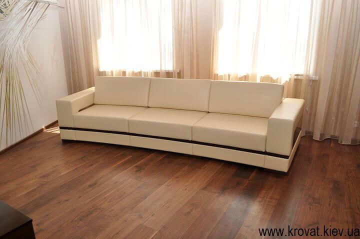диван с радиусом