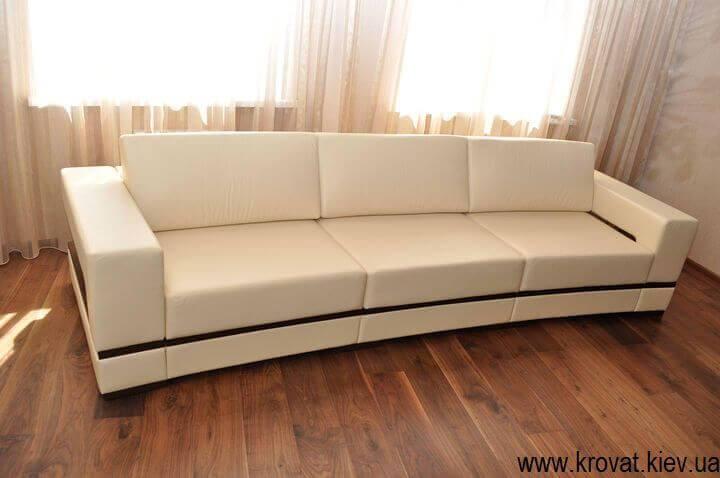 изготовление диванов с радиусом