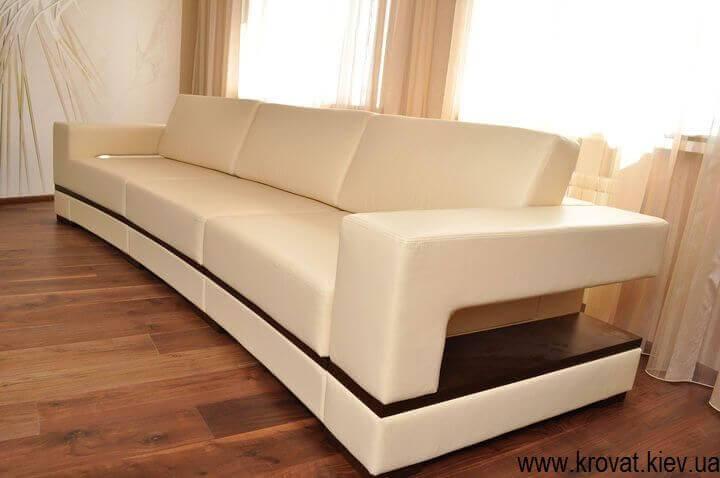 диван с радиусом по фото