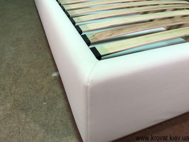 кровать с ортопедическим матрасом с нишей на заказ