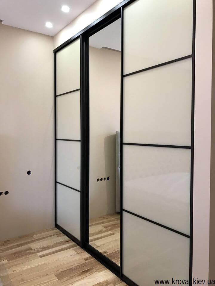 шкаф купе для спальни на заказ по размерам