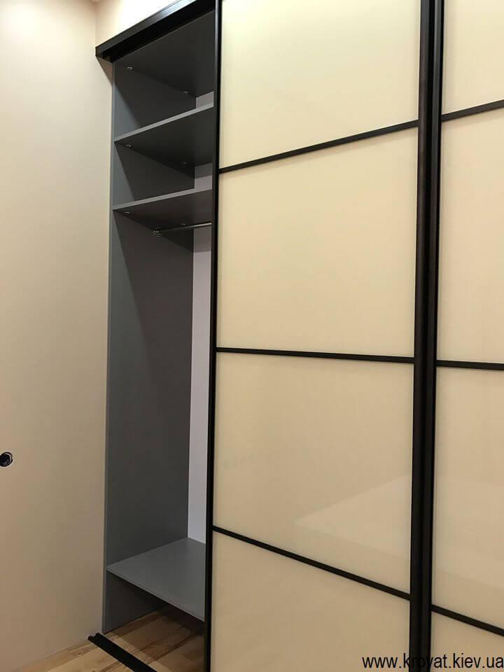 шкаф купе для спальни с раздвижными дверьми