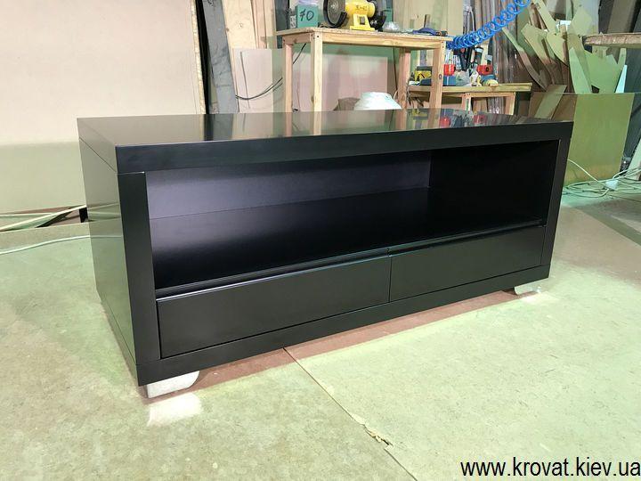 изготовление тумбочек под телевизор