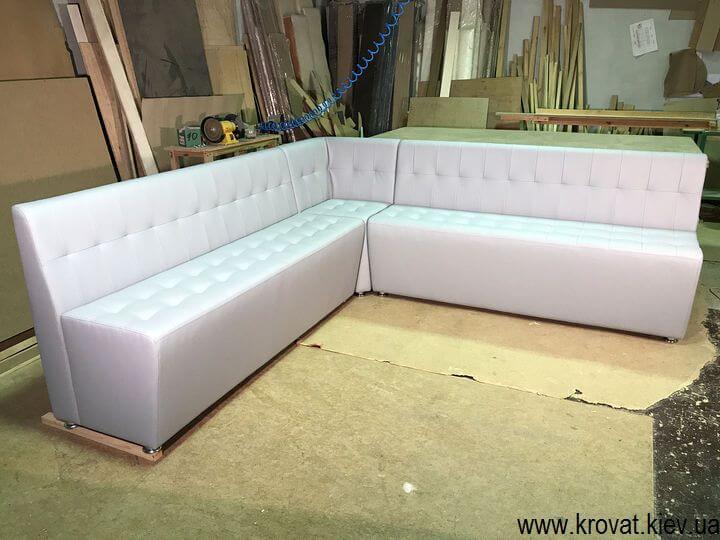 угловой диван для кафе на заказ
