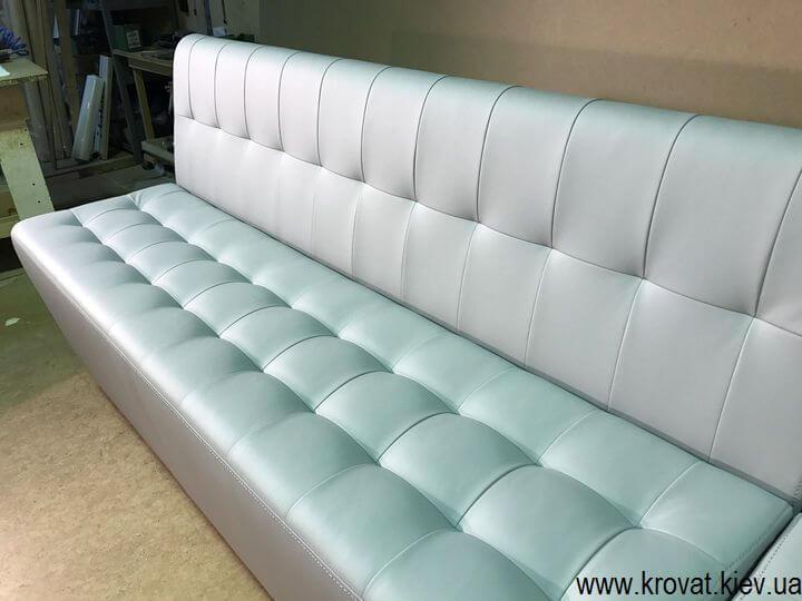 диван для кафе с утяжками на заказ