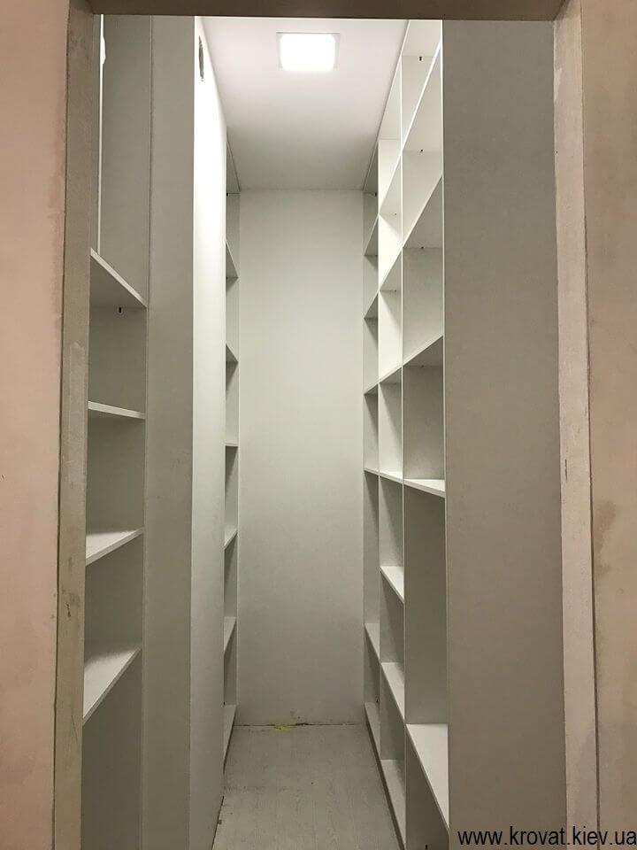 гардеробні шафи
