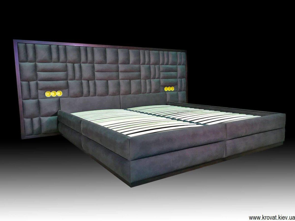 кровать с встроенными розетками на заказ