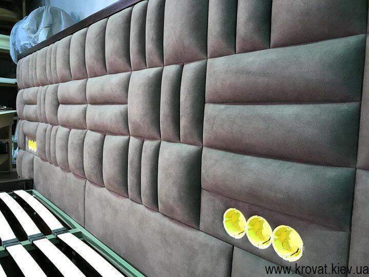 изготовление кроватей с встроенными розетками