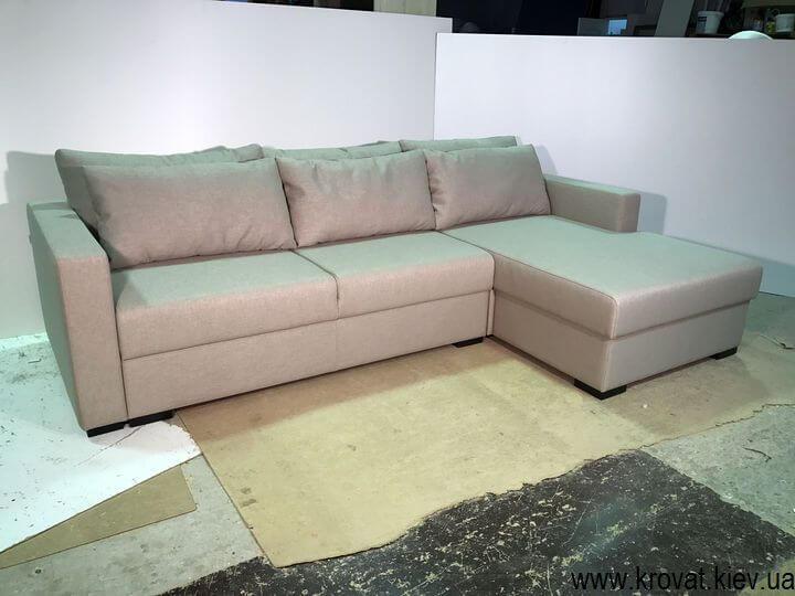 кутовий диван-ліжко на замовлення