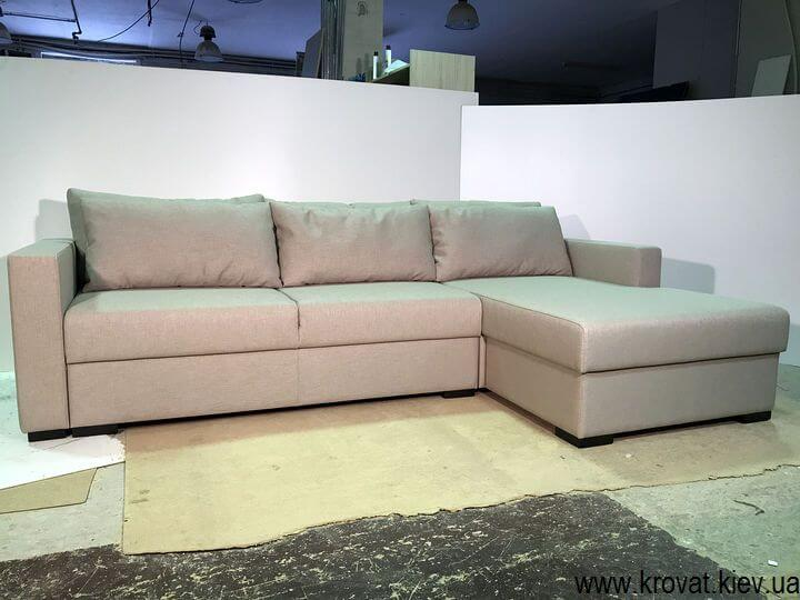 виготовлення кутових диванів-ліжок на замовлення