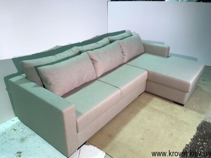 кутовий диван-ліжко за розмірами на замовлення