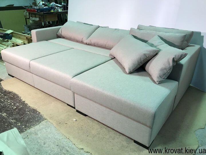 диван-ліжко зі спальним місцем на замовлення