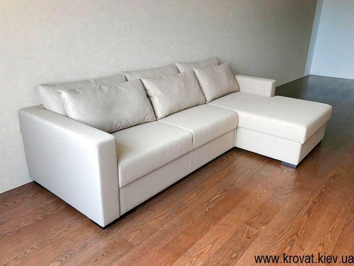 кутовий диван-ліжко в інтер'єрі