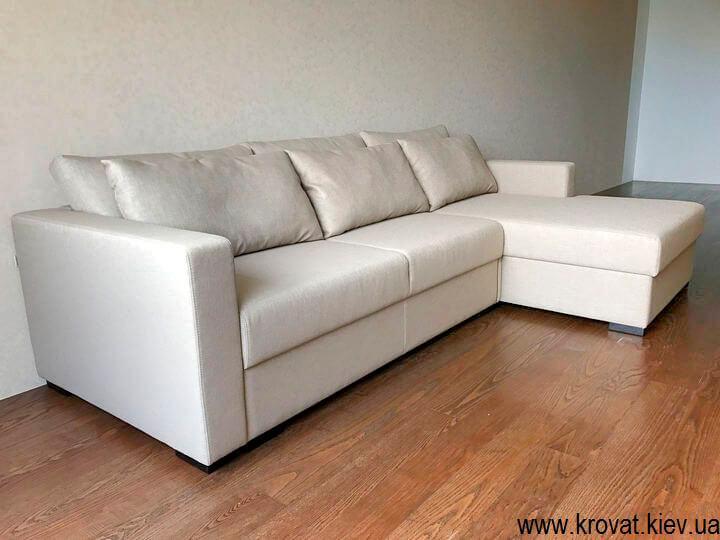 угловой диван-кровать в гостиную