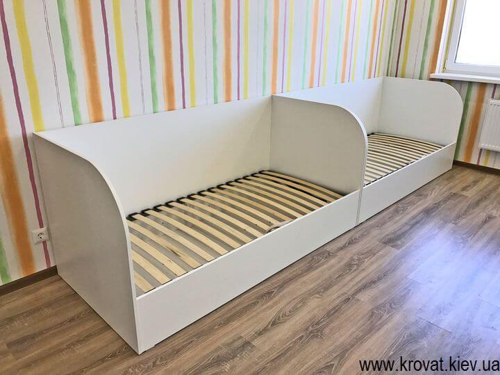 кровать с нишей в детскую на заказ