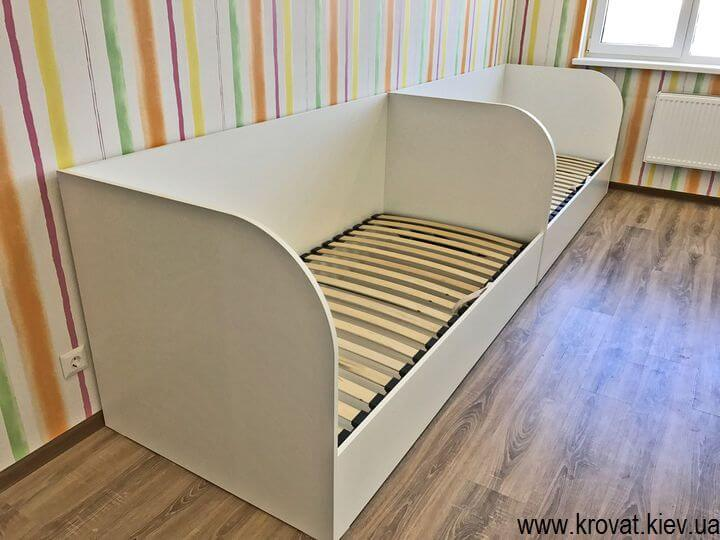 дитяче ліжко з ДСП з ящиками на замовлення