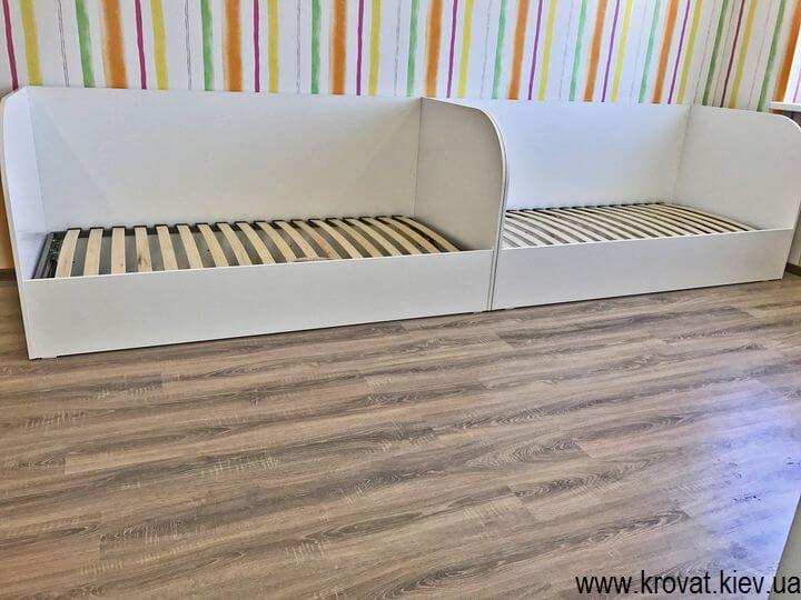 односпальная детская кровать из ДСП с ящиками на заказ