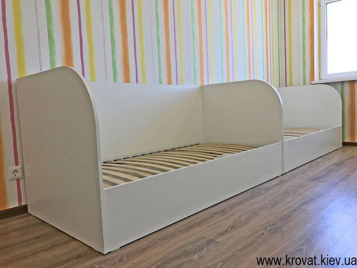 дитячі ліжка з ДСП з ящиками на замовлення