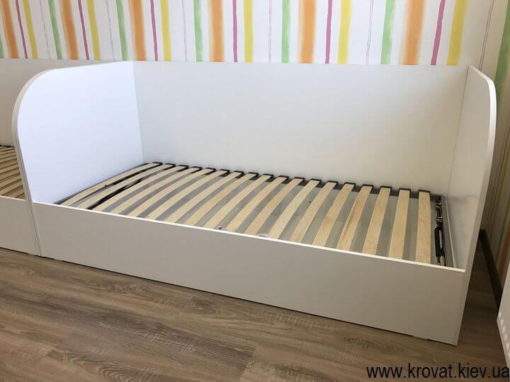 односпальні дитячі ліжка з ДСП з ящиками на замовлення