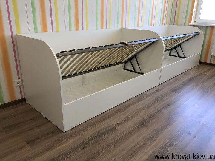 изготовление детских кроватей с ящиками на заказ