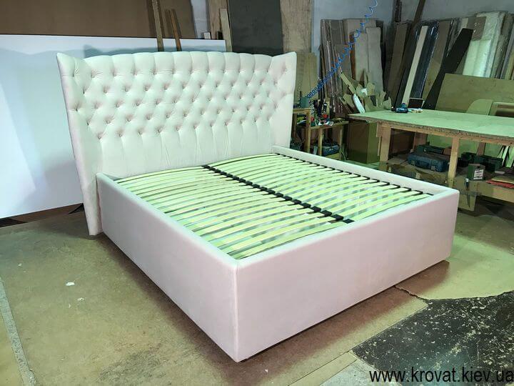 кровать с большим ящиком на заказ