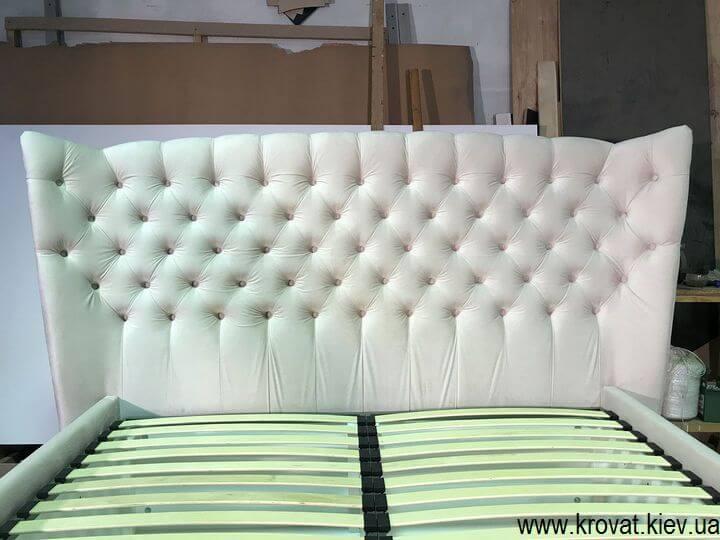 кровать с изголовьем в американском стиле на заказ
