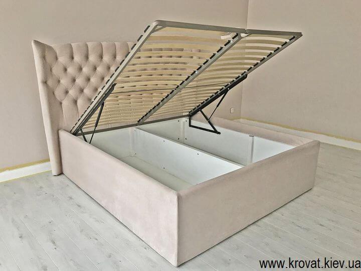 кровать с большим ящиком для белья