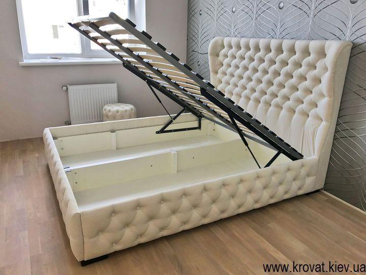 кровати с капитоне на заказ